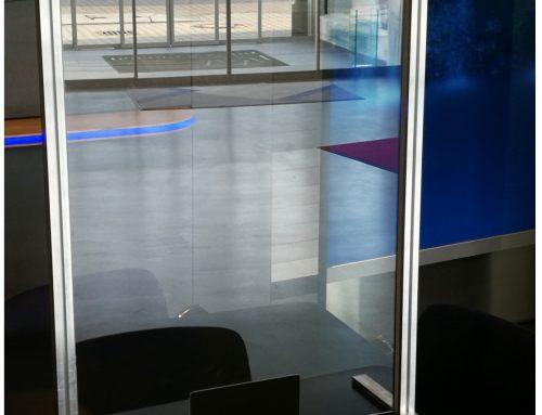 Infektionsschutz aus Glas